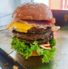 Triple Burger von Burgeria